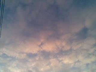 年明けの空